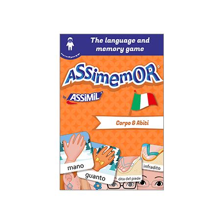 My First Italian Words: Corpo e Abiti (livre numérique enrichi)