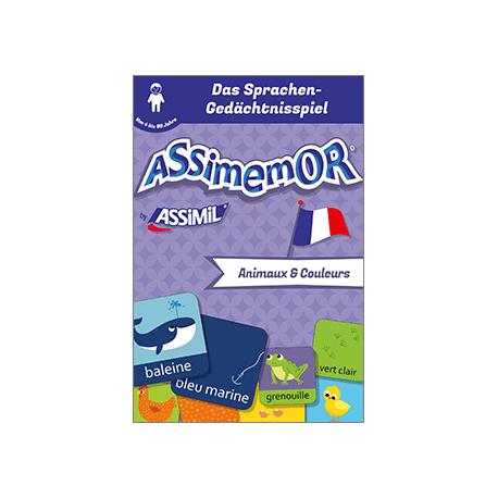Meine ersten Wörter auf Französisch: Animaux et Couleurs (livre numérique enrichi)