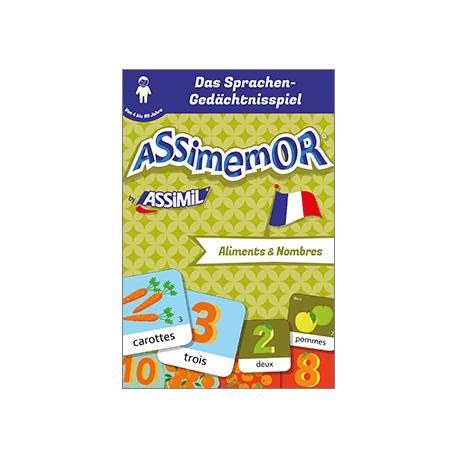 Meine ersten Wörter auf Französisch: Aliments et Nombres (livre numérique enrichi)