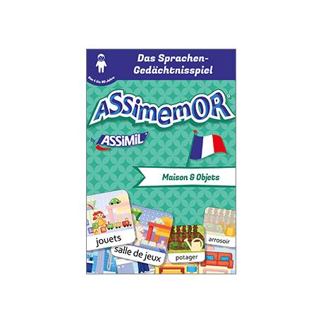 Meine ersten Wörter auf Französisch: Maison et Objets (livre numérique enrichi)