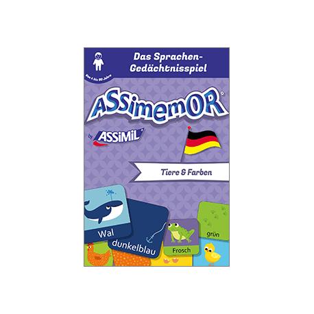 Meine ersten Wörter auf Deutsch: Tiere und Farben (livre numérique enrichi)