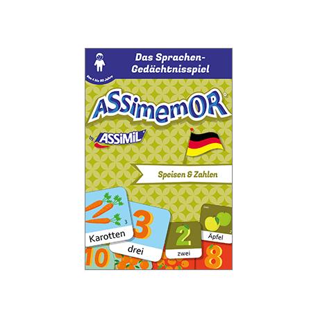 Meine ersten Wörter auf Deutsch: Speisen und Zahlen (livre numérique enrichi)