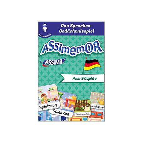 Meine ersten Wörter auf Deutsch: Haus und Objekte (livre numérique enrichi)