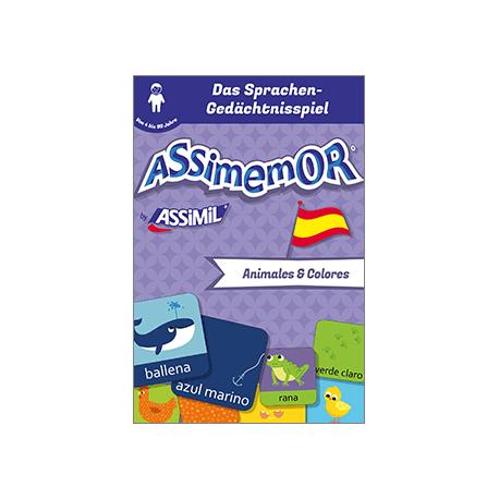 Meine ersten Wörter auf Spanisch: Animales y Colores (livre numérique enrichi)