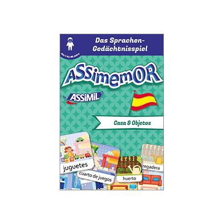 Meine ersten Wörter auf Spanisch: Casa y Objetos (livre numérique enrichi)