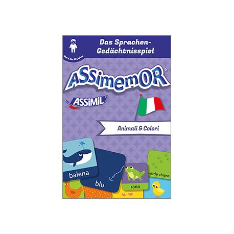 Meine ersten Wörter auf Italienisch: Animali e Colori (livre numérique enrichi)