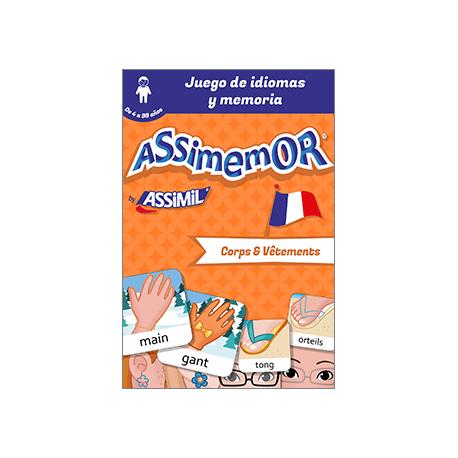 Mis primeras palabras en francés: Corps et Vêtements (livre numérique enrichi)