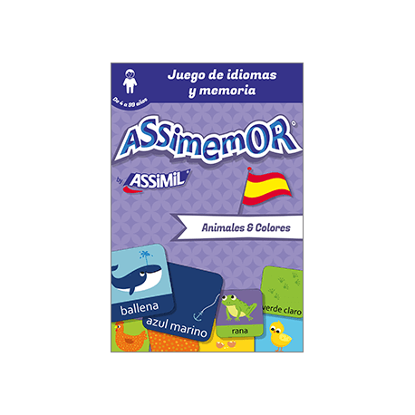 Mis primeras palabras en español: Animales y Colores (enhanced ebook)