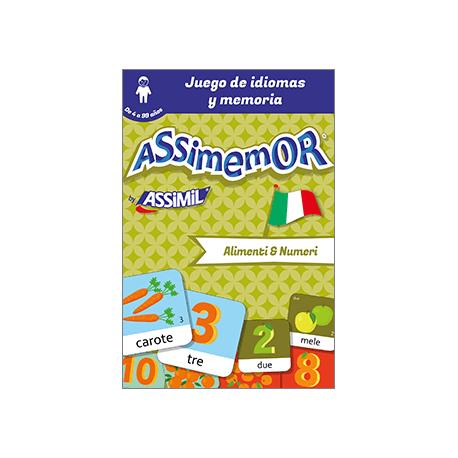 Mis primeras palabras en italiano: Alimenti e Numeri (livre numérique enrichi)