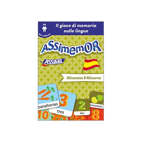 Le mie prime parole in spagnolo: Alimentos y Números (enhanced ebook)