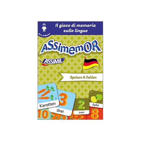Le mie prime parole in tedesco: Speisen und Zahlen (livre numérique enrichi)