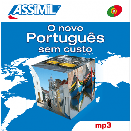 O novo Português sem custo (Portuguese mp3 CD)