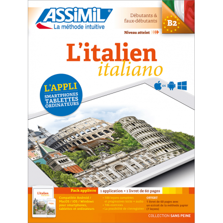 L'italien (pack applivre)