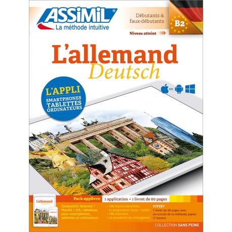 L'allemand (pack App-livre)