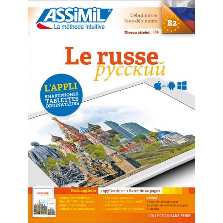 Le russe (pack App-livre)