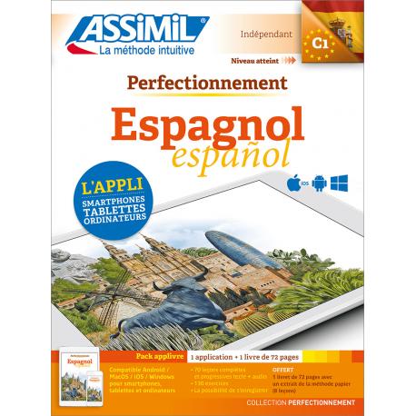 Perfectionnement Espagnol (pack App-livre)