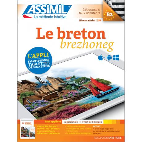 Le breton (pack App-livre)
