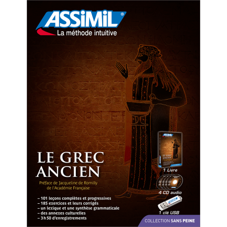 Le grec ancien (audio CD pack)