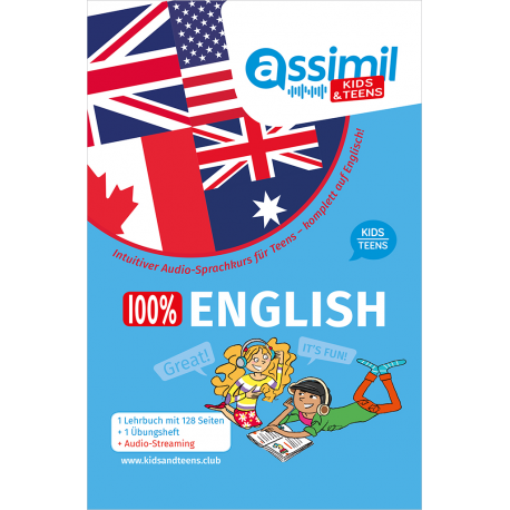 SPRACHKURS 100% ENGLISH KIDS/TEENS