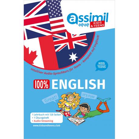 SPRACHKURS 100% ENGLISH KIDS/TEENS