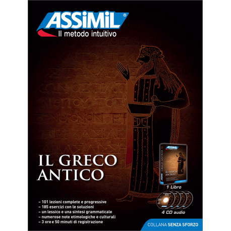 Il Greco antico (pack CD audio)