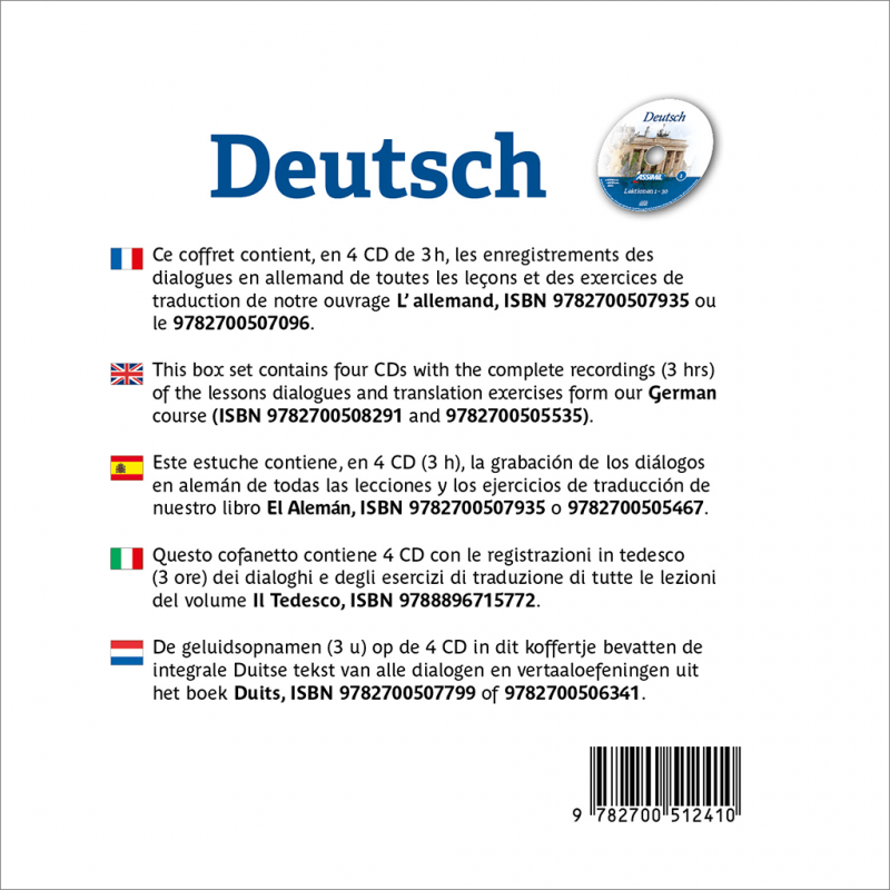 Deutsch Cd Audio Allemand Assimil Com