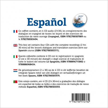 Español (Spanish audio CD)