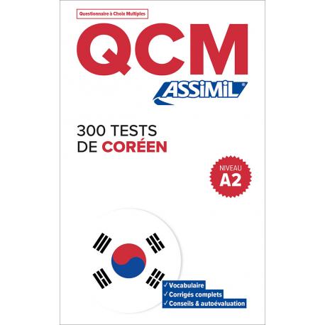 300 tests de coréen - Niveau A2