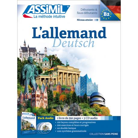 L'allemand (audio CD pack)
