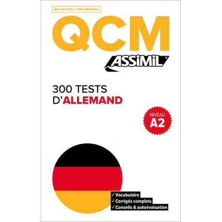 300 tests d'allemand - Niveau A2