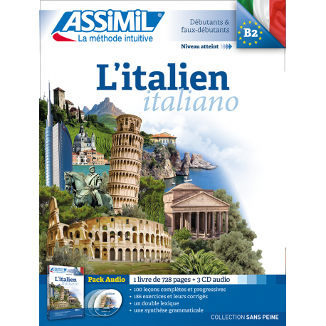 L'italien (pack CD audio)