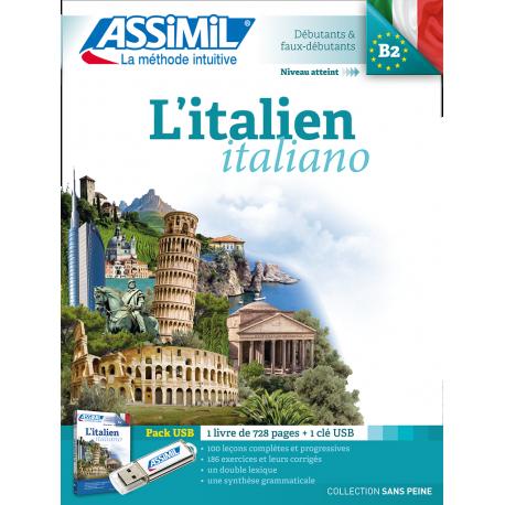 L'italien (pack USB)